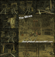 The Mines - Resident Evil 5 by JhonyHebert