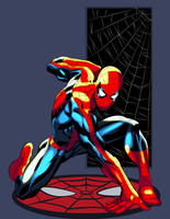 Spider-man by Ironmatt1995