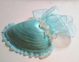 mermaid fascinator by littlebitakit