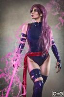 Margie Cox as Psylocke 2 by moshunman