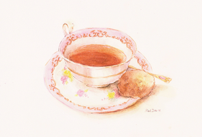 Afternoon Tea by M-iki