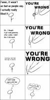 You're Wrong by BattleJesus