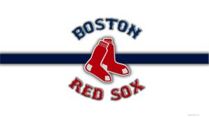 Red Sox Stripe - No Noise WP by muskrat2k1