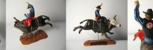 Bull Rider by LilAngelWings014