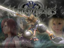 Kingdom Hearts II - Wallpaper by Venthor78