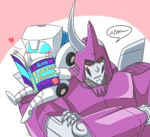 MTMTE: Perfect Reading Spot by Evelynism