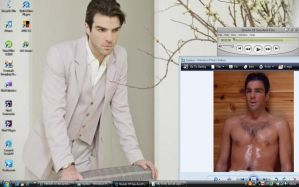 Zachary Quinto Desktop by 191026