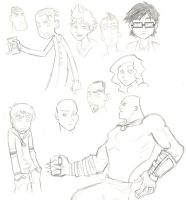 March '07 Sketches by Mhagni