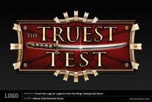 Truest Test Logo by natebarnes