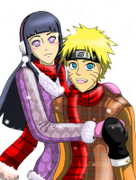 Naru-Hina Snow Date by inulover411