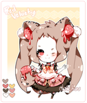 Adoptable #15: Red Velvet (OPEN) by deichuu
