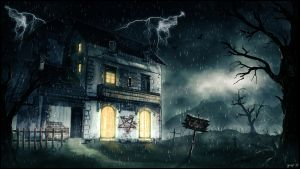 creepy house by gugo78