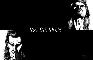 Torn Destiny Background Wallpaper by zehkiwi