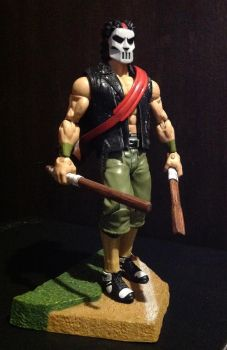 Casey Jones Custom Figure by FigureHunterCustoms