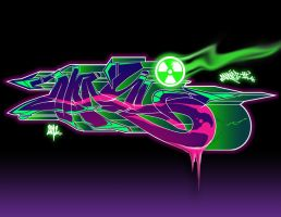 Radioactive Graff 2 by JohnVichlenski
