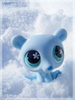 Blue Polar Bear by Dynamene-Dolls