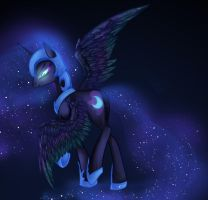 Request: Nightmare Moon by tamponandtwilaloop