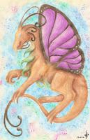 Random butterfly dragon by Love-Only-Knows