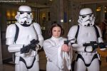 Katsucon 2015 - Leia and the Stormtroopers by VideoGameStupid