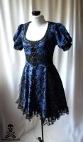 dark alice dress 5 by smarmy-clothes