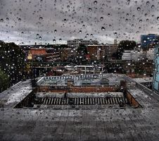 rainy day in Bethnal Green by awjay