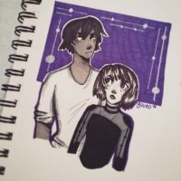 Everett and Oliver || Inktober 2016 by Buurd