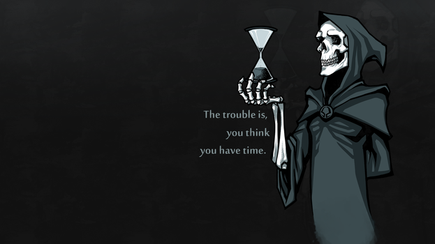 The trouble (wallpaper) by nightgrowler
