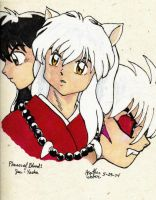 Phases of Blood: InuYasha by GlyphBellchime