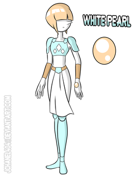 SU-OC-White Pearl (Remade) by Jchanel404