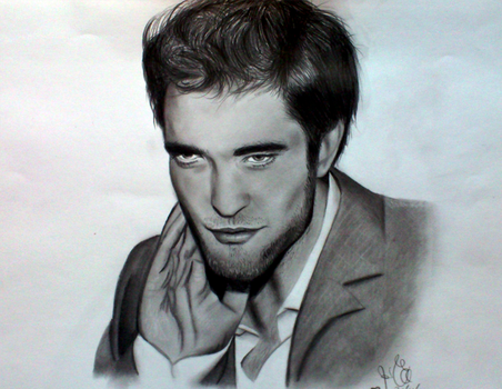 Rob Pattinson by rozicullen