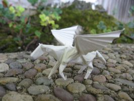 Origami Pegasus by 50an6xy06r6n