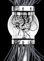 Brain in a Jar by doctor-morbius