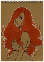 ginger - notebook by pencil-butter