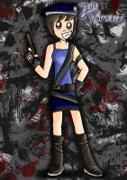 Jill Valentine (commission) by EVIE128