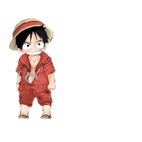 Chibi Luffy~ by CallineXoP