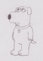 Brian Griffin by simpsonsfan628