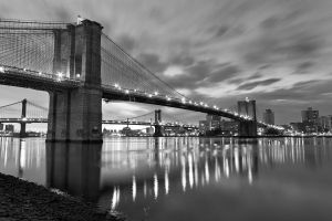 Brooklyn B+W by PeteLatham