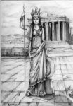 Athene by Ainaven