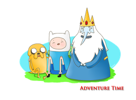 Adventure Time by poeok