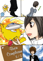 TsunaHaru: Birthday 2011 by chikikuto