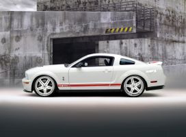 WhiteRed GT500 - Wheel 0ptions 2 by lovelife81