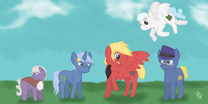 My Little Nordics by snickums10