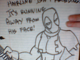Deadpool Insults Norman Osborn by MiserysLastWhim