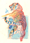 Watercolor Practice June 21, 2014 by Majykal-Melodi
