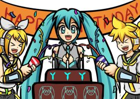 Happy Birthday Miku-chan 2015 by irzhie