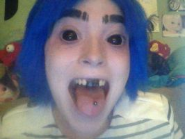 2D Tongue by LostWoodsCosplay