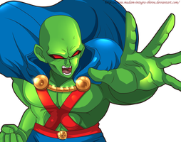 Martian Manhunter DBZ style by Madam-Integra-Shirou