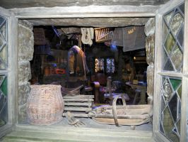 gamekeepers hut Harry potter tour film sets by Sceptre63