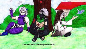 Thanks for 500 Pageviews by D-Yami