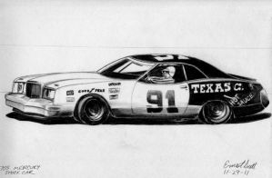 1970's Mercury Stock Car by ImfamousE